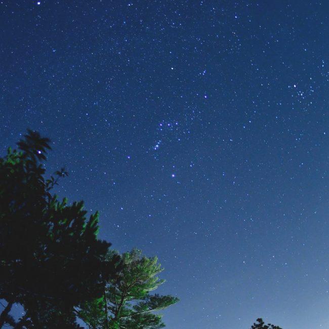 カヌチャ:星空浴