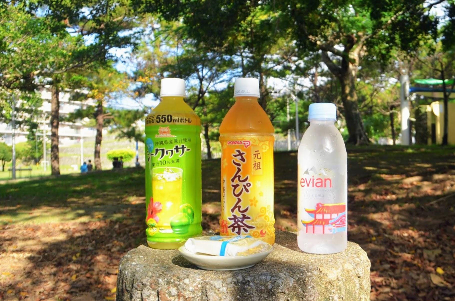 沖縄 コンビニ お土産 沖縄土産 ソフトドリンク シークヮーサー さんぴん茶
