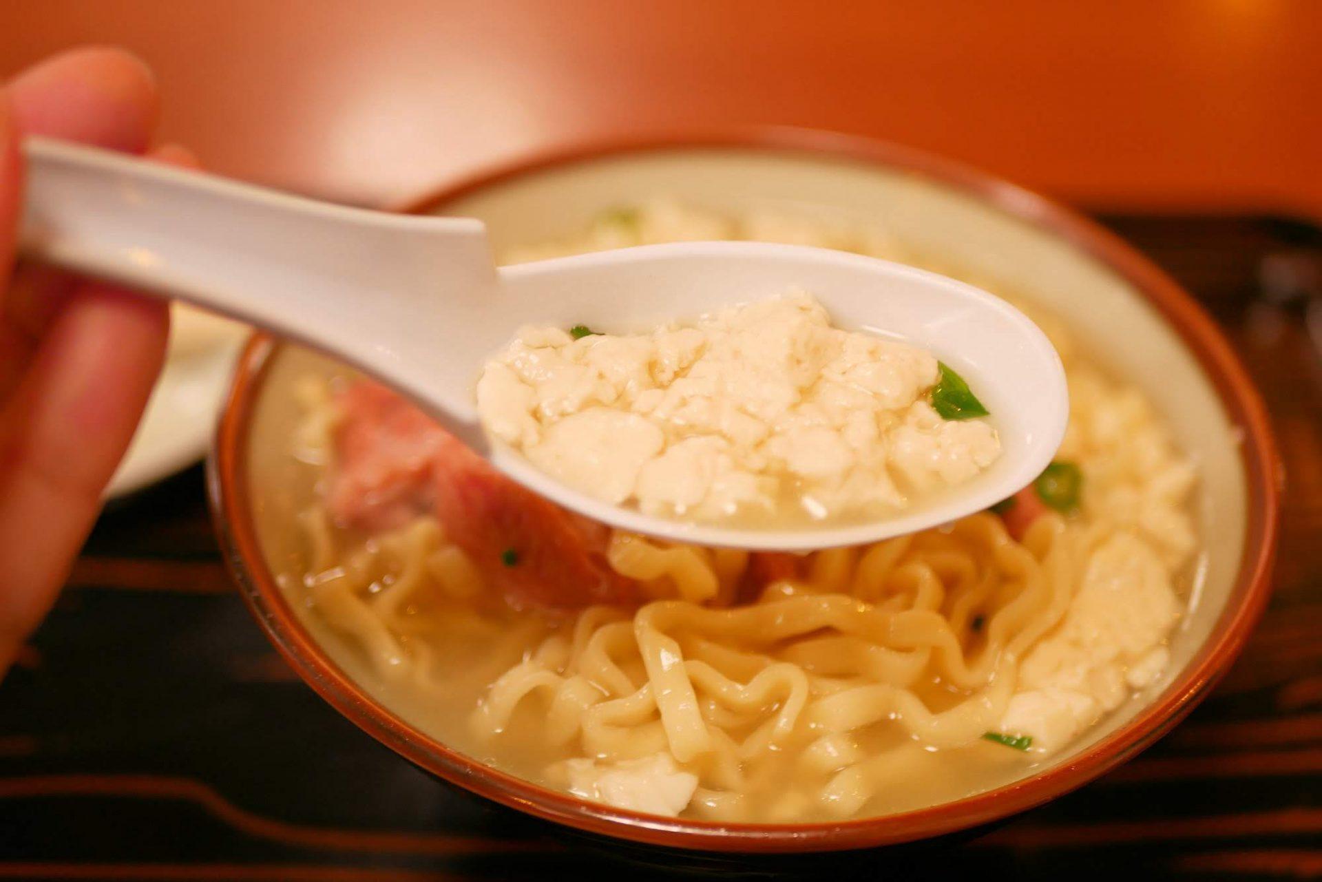 ゆし豆腐 沖縄 おすすめ B級グルメ ローカルフード
