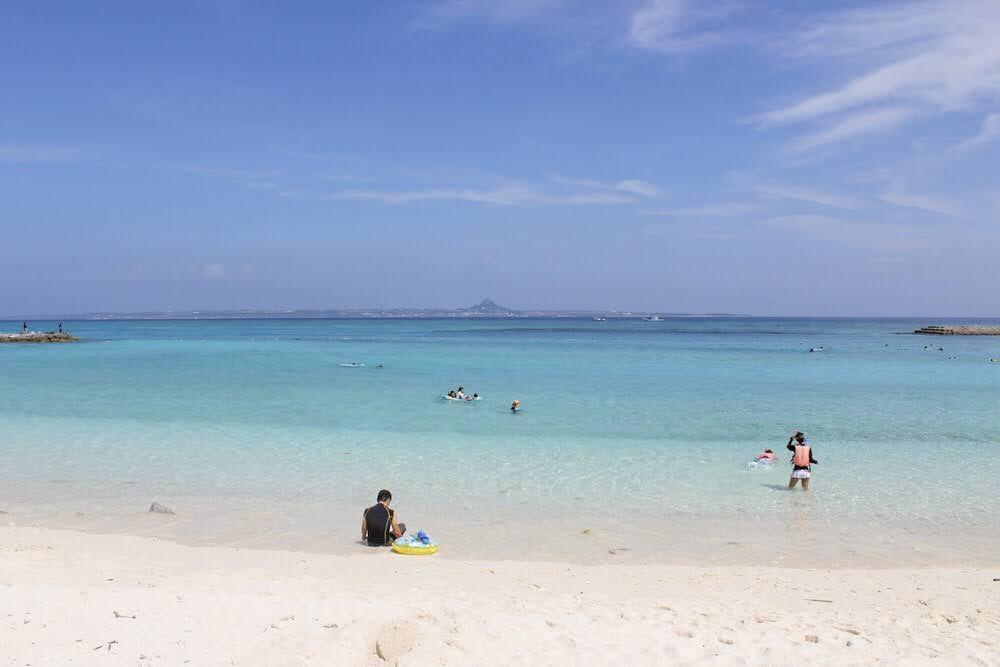水納ビーチ 水納島 沖縄 おすすめ ビーチ 離島 旅行