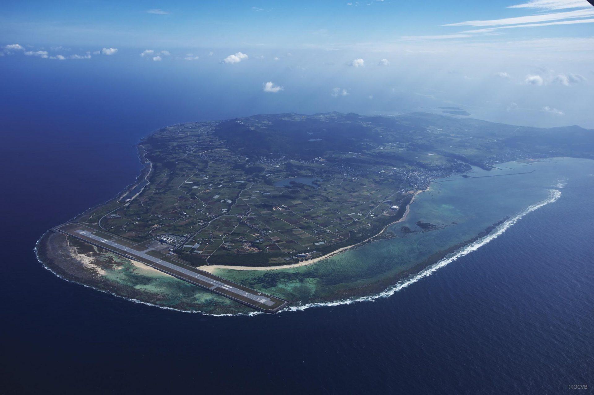 久米島 全景
