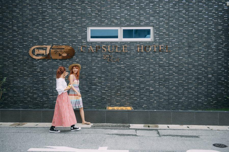 沖縄 ひとり 旅 ホテル カプセルホテル セカンドボックス 那覇市