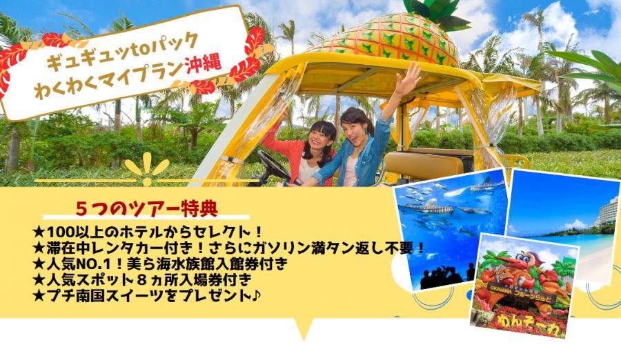 沖縄美ら海水族館入場券付ツアー 格安 沖縄 旅行 安い 時期 ツアー 観光
