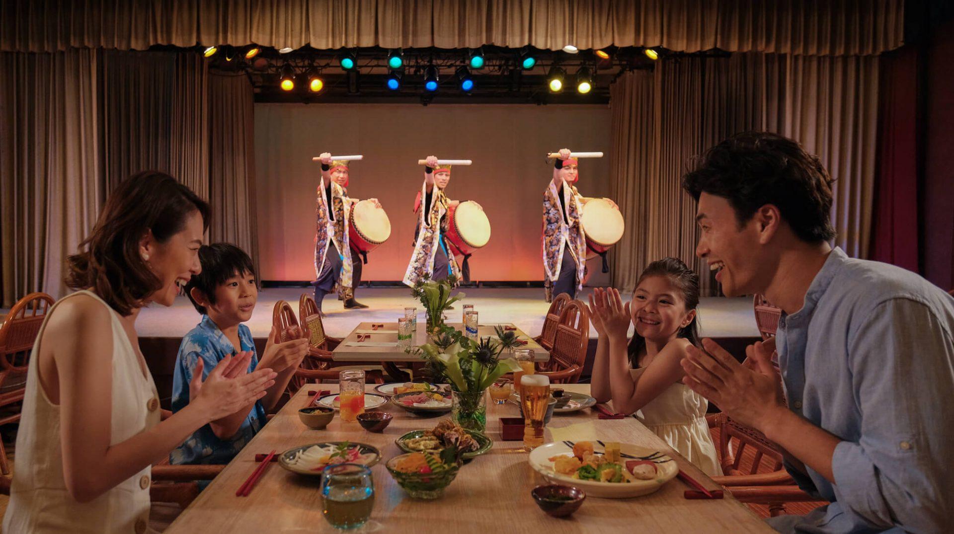 琉球料理 オーキッド 恩納村 ホテル ANA インター コンチネンタル 万座 ビーチ リゾート