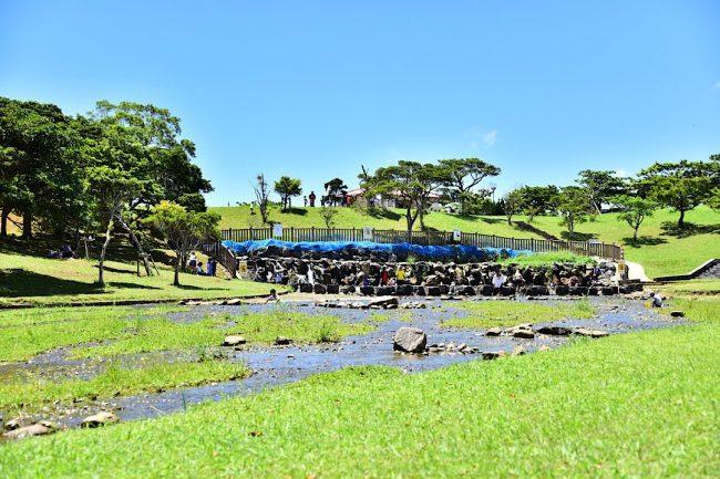 倉敷ダム うるま市 沖縄 子供 遊び場 子ども 子連れ 家族
