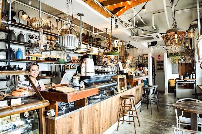 ZHYVAGO COFFEE WORKS ジバゴコーヒーワークス 北谷町 沖縄 人気 カフェ