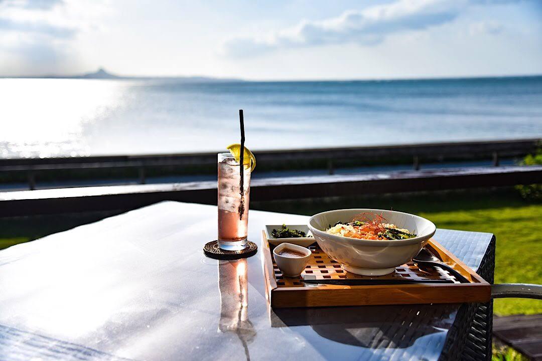 沖縄 海 カフェ cafe CAHAYA BULAN 本部町