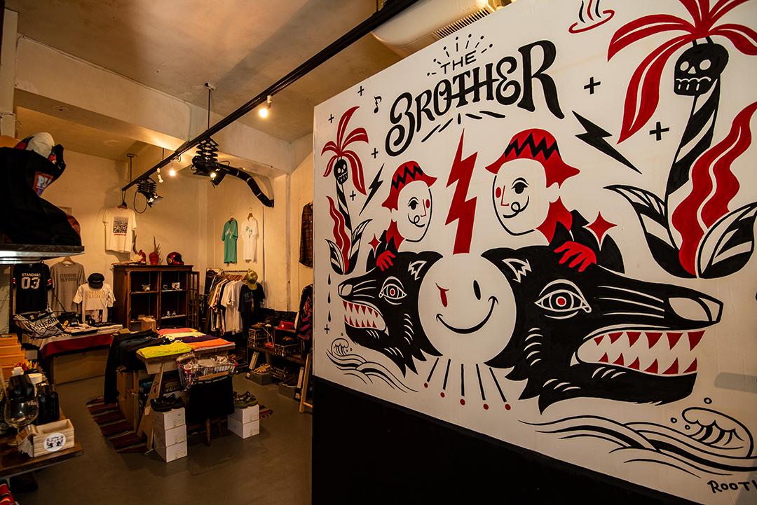 アメカジ&Barの「The BROTHER」