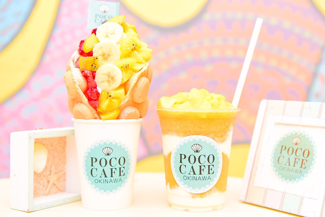 POCO CAFE Okinawa エッグワッフル 那覇 スイーツ おすすめ 沖縄