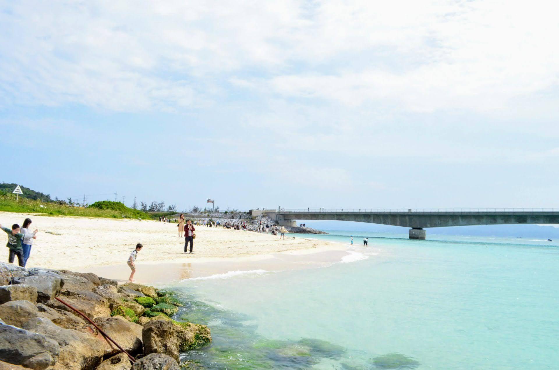 古宇利ビーチ 古宇利島 沖縄 北部 ビーチ おすすめ 旅行 観光
