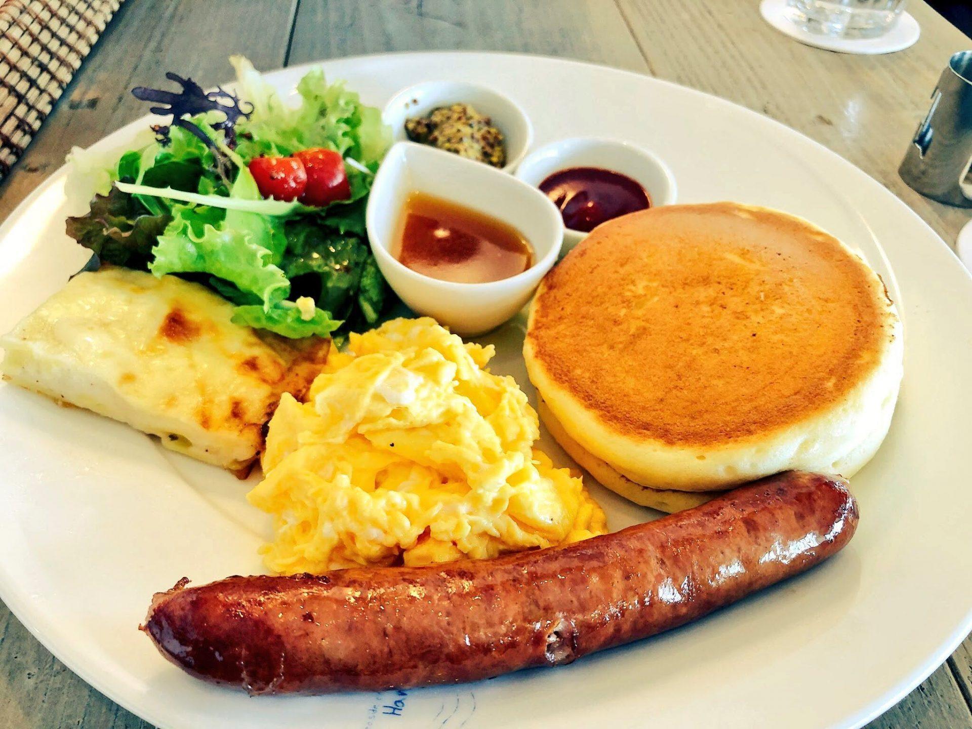 Seaside cafe Hanon シーサイドカフェハノン パンケーキ 北谷町 ランチ 昼ご飯 おすすめ 沖縄
