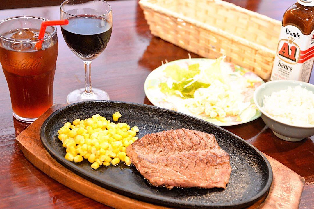 沖縄 ステーキ おすすめ サンライズレストラン 沖縄市
