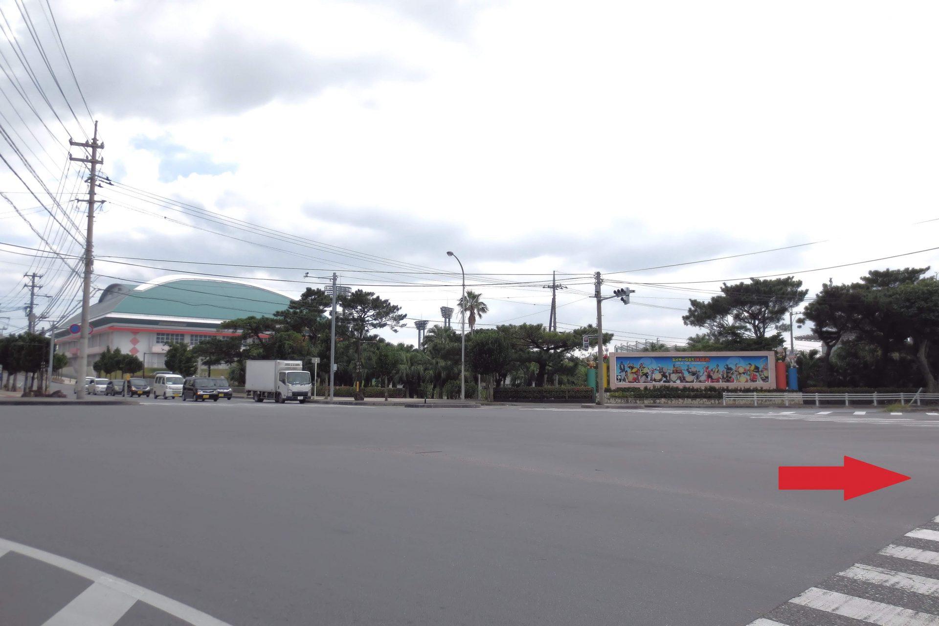 沖縄自動車道「沖縄南IC」