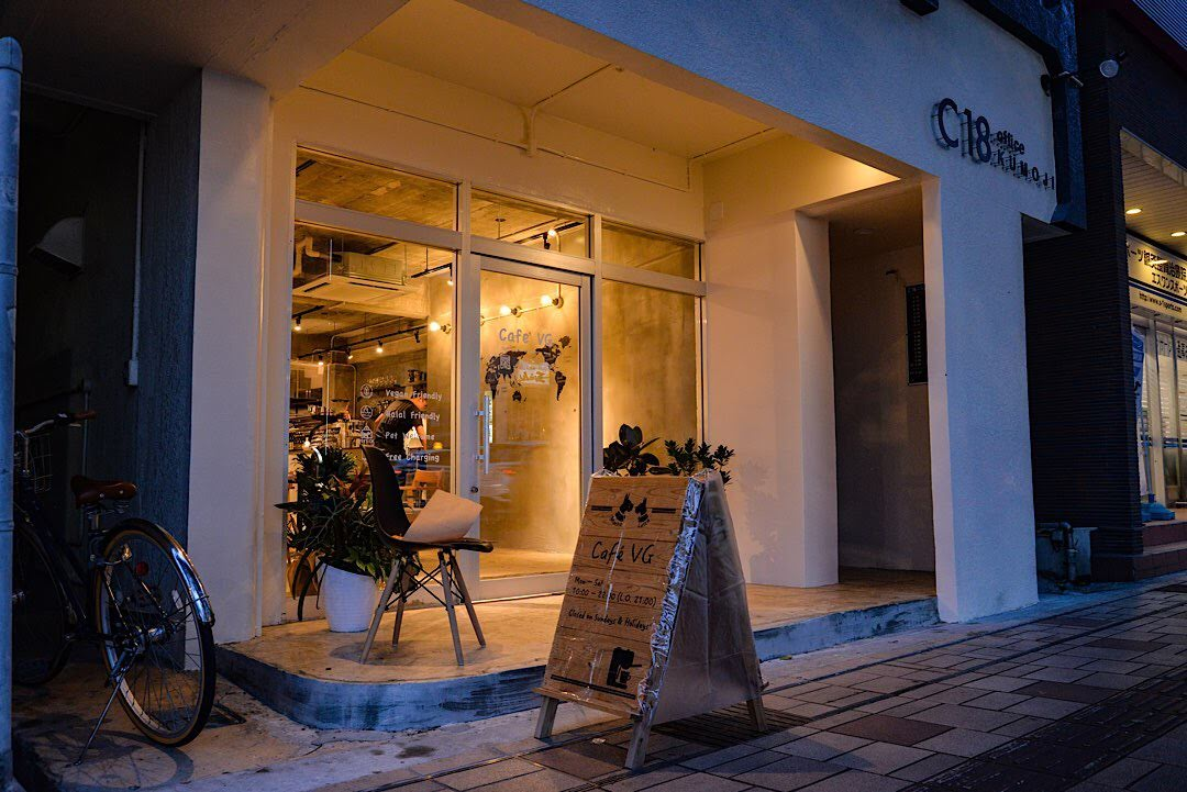 Cafe VG カフェ 那覇 夜 ご飯 おすすめ ディナー 沖縄 グルメ
