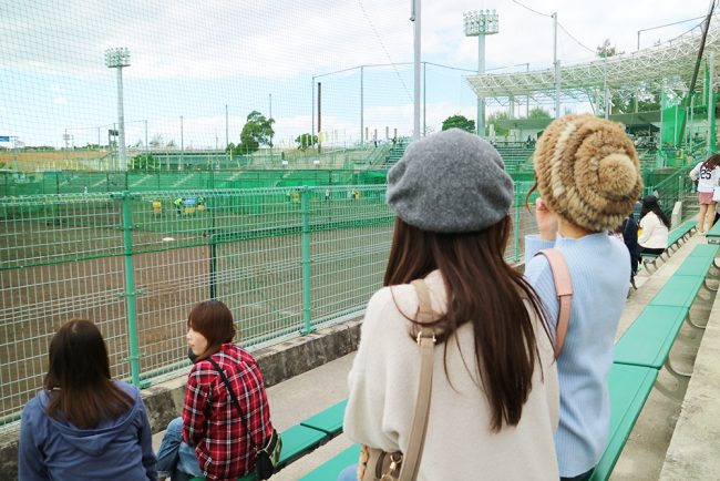阪神キャンプ 練習場