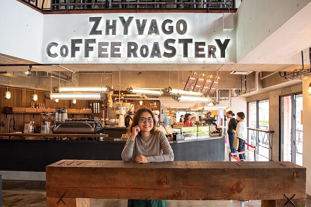ZHYVAGO COFFEE ROASTERY ジバゴ コーヒー ローステリー アメリカンビレッジ カフェ 北谷 美浜 おすすめ