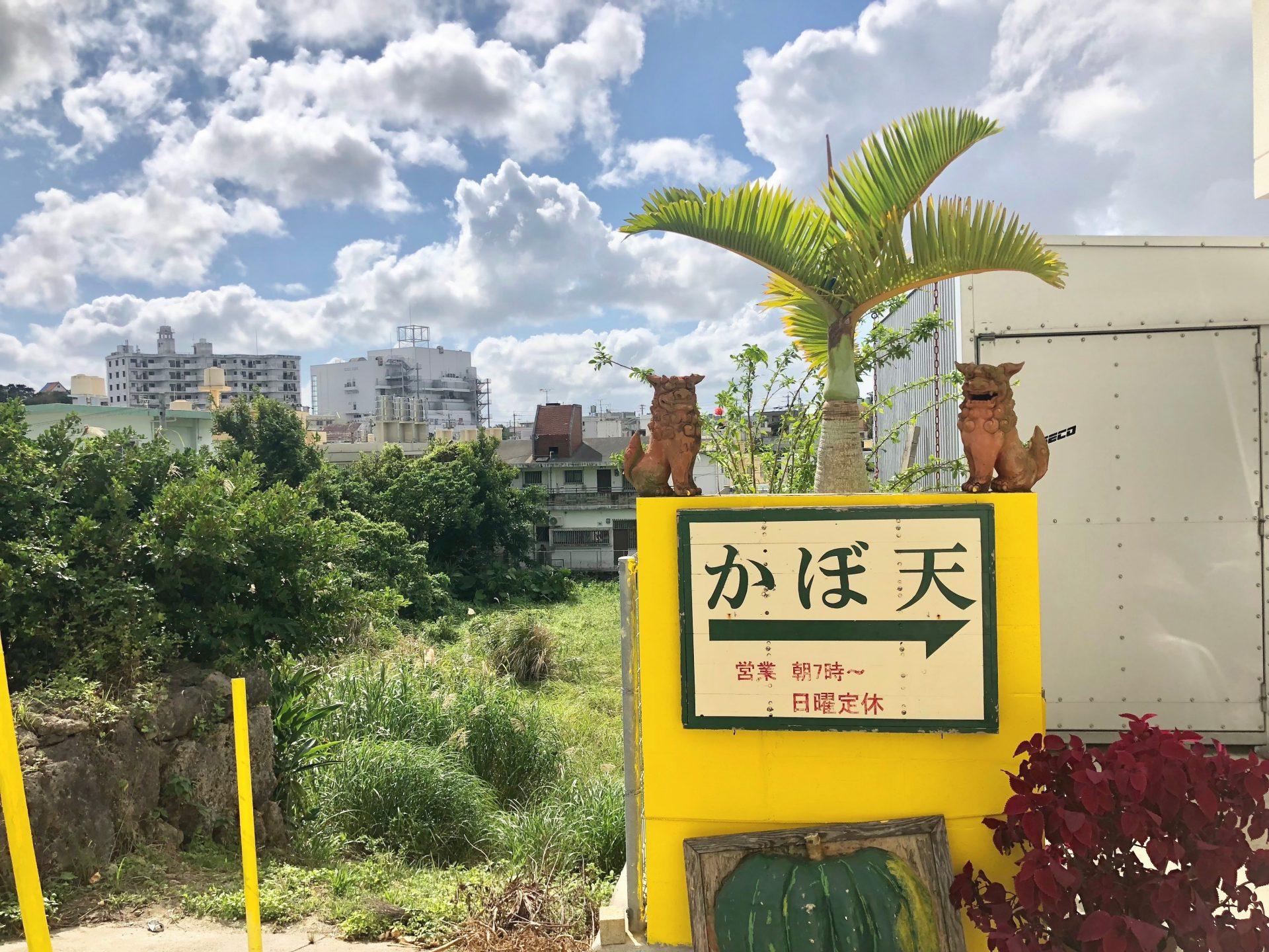 かぼ天の店なかそね 沖縄市 沖縄 サーターアンダギー おすすめ グルメ 旅行 観光