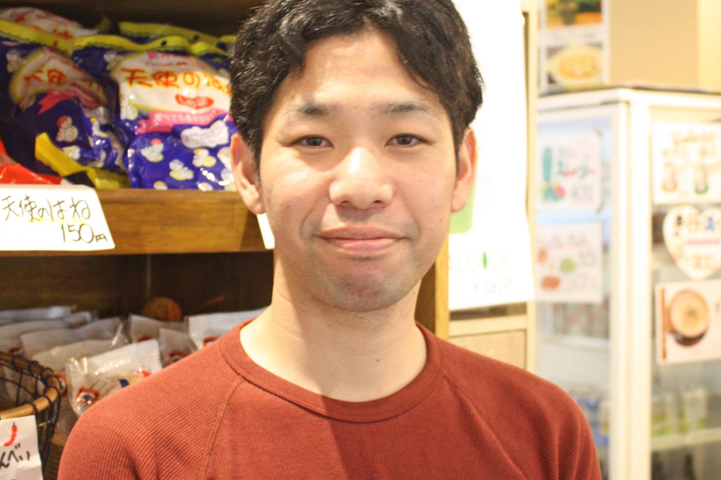 取締役部長の新田崇太さん