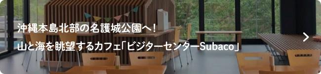 沖縄本島北部の名護城公園へ!山と海を眺望するカフェ「ビジターセンターSubaco」