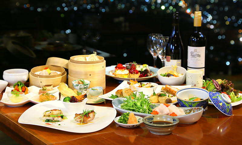 ユインチホテル南城 沖縄 ホテル ディナー
