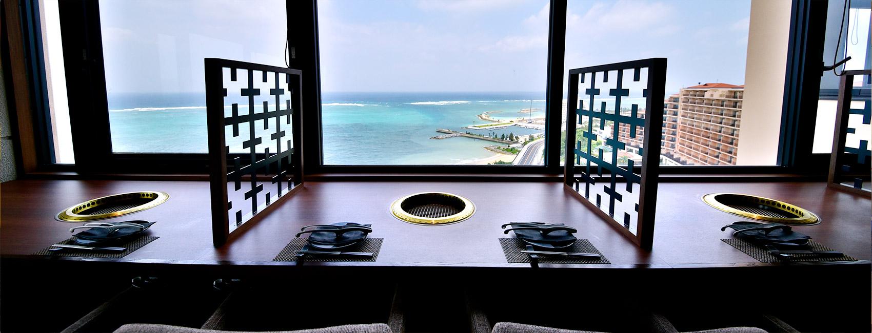 琉球 BBQ Blue カフー リゾート フチャク コンド・ホテル 恩納村 ホテルランチ おすすめ 昼食 旅行 観光 沖縄