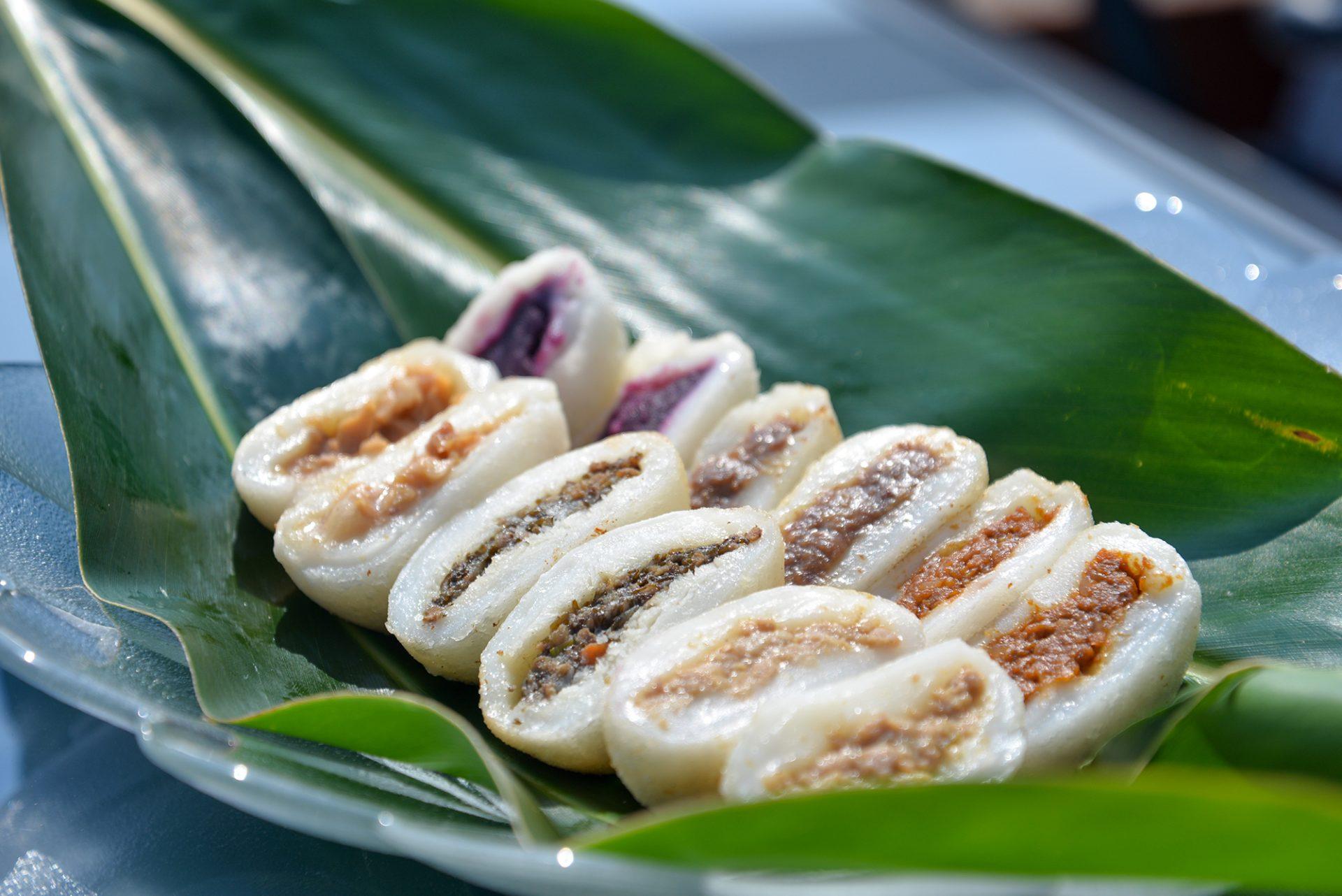 沖縄の厳選食材が詰まった絶品お焼き 誠もち店の「沖縄のお焼き」を食べに行く