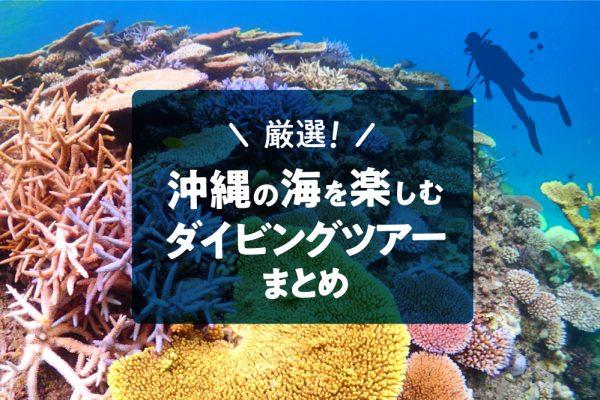 厳選!沖縄の海を楽しむダイビングツアーまとめ