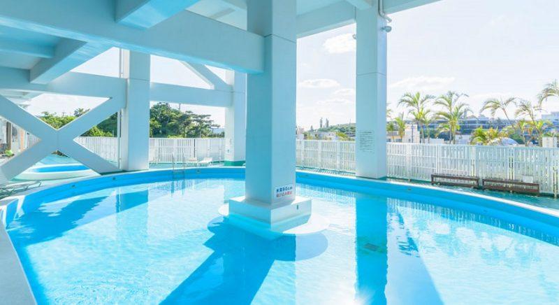 屋外プール かねひで恩納マリンビューパレス 沖縄 ホテル