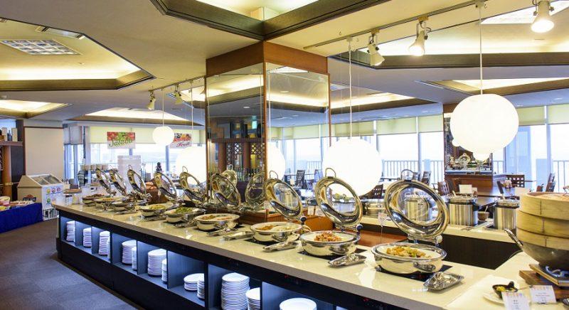 展望レストラン 宴 かねひで恩納マリンビューパレス 沖縄 ホテル