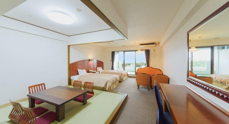 客室 和室 かねひで恩納マリンビューパレス 沖縄 ホテル