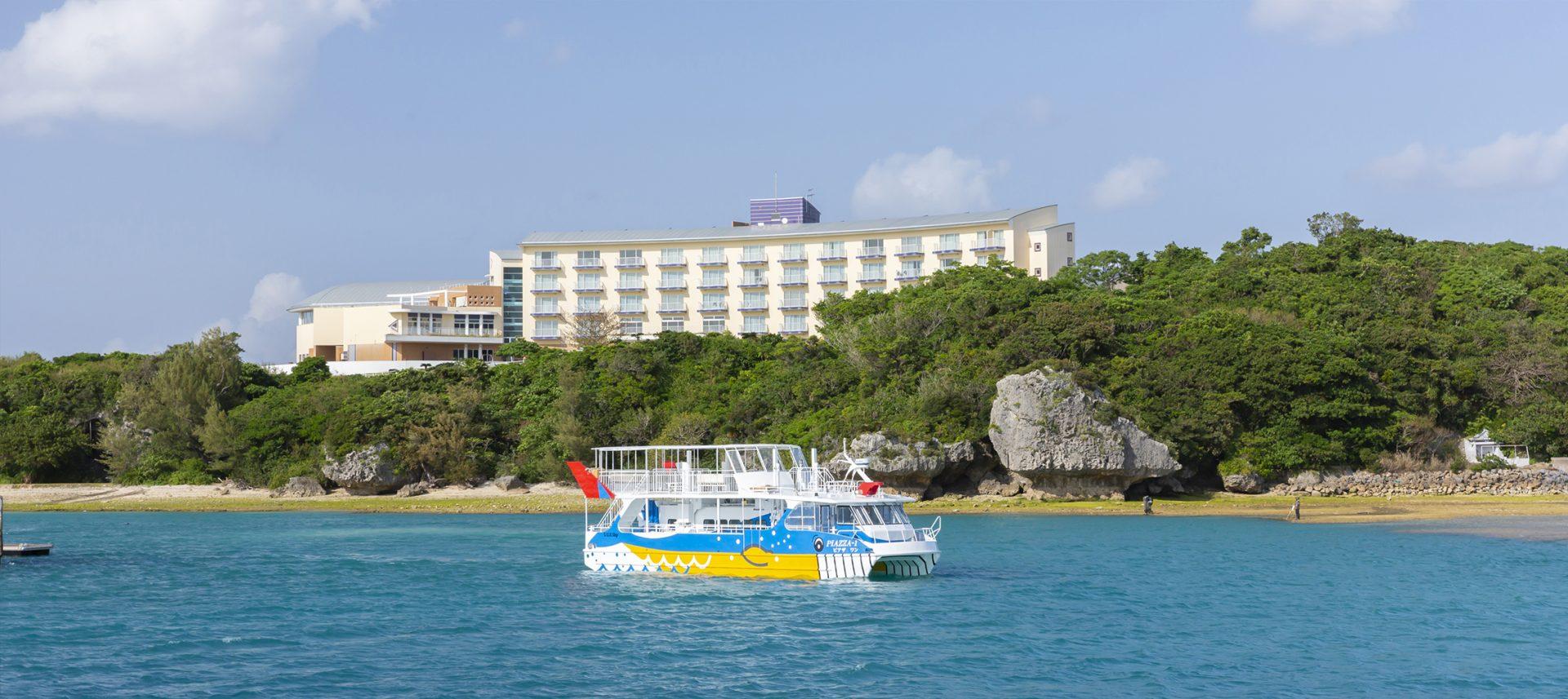 本部町 沖縄 美ら海水族館 近く ホテル おすすめ 旅行 観光  マリンピアザオキナワ