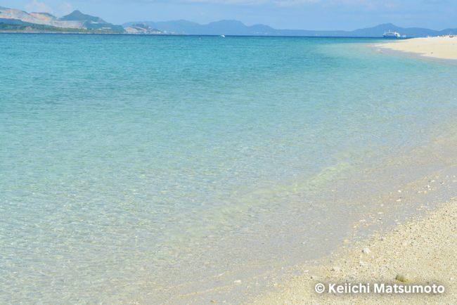 水納ビーチ