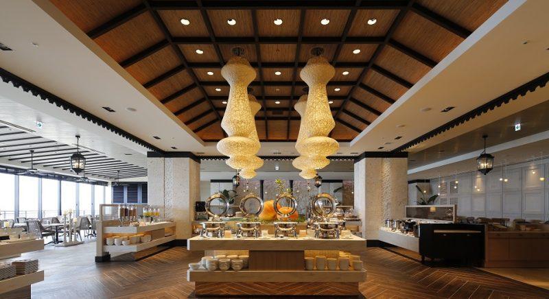 ブッフェレストラン「シーフォレスト」 恩納村 ホテル モントレ 沖縄 スパ&リゾート リゾートホテル おすすめ 旅行 観光