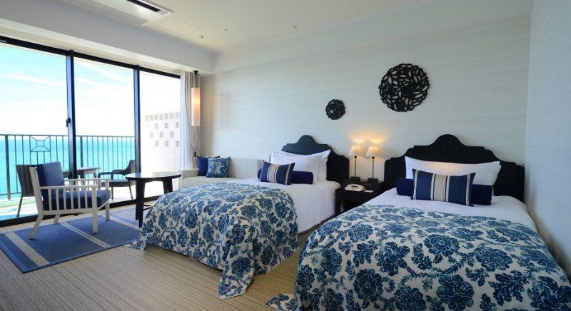 客室 オーシャンビュー 恩納村 ホテル モントレ 沖縄 スパ&リゾート リゾートホテル おすすめ 旅行 観光