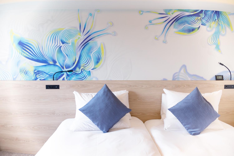 ノボテル 沖縄 那覇 ワーケーション テレワーク ホテル スタンダードツイン 客室