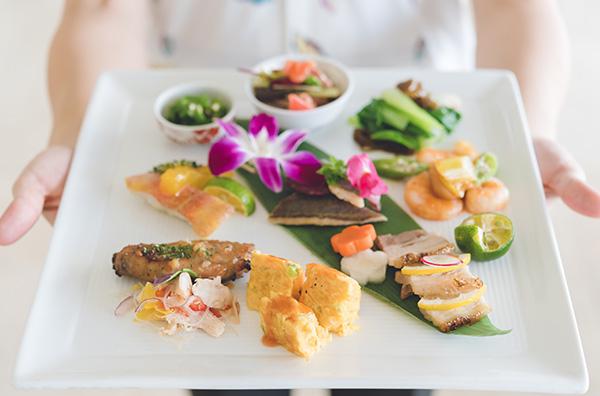THE DINING 暖琉満菜 沖縄かりゆしビーチリゾート・オーシャンスパ 恩納村 ホテルランチ おすすめ 昼食 旅行 観光 沖縄