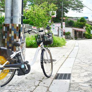 那覇の国際通り周辺をサイクリング!12時間利用して千円の電動アシスト自転車が楽チン